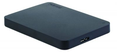 The Toshiba Canvio Basics 1TB Portable External Hard Drive USB 3.0 is available from Amazon for $48.