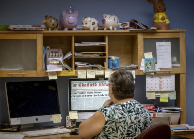 Pam Bluhm worked at the Chatfield News for nearly 40 years. When the newspaper serving Olmsted and Fillmore counties closed earlier this year, Bluhm knew what she had to do: Buy it.